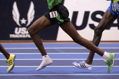 Shoeless Runner