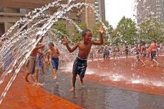 Boston Fountain Feature