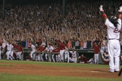 Boston Red Sox Manny Ramirez Walk-Off
