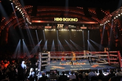 Boxing at Radio City Music Hall