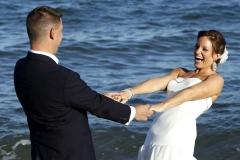 Bride by the Ocean